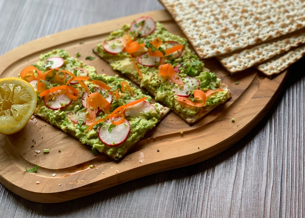 Avocado Matzo